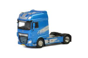 Modèles Wsi Unité de cabine 4x2 Daf Xf Ssc bleue (90e anniversaire) 04-2062 8719674006998