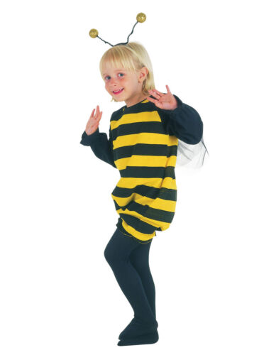 #bumble BEE Toddler Bambini Fancy Dress 2-3years Animali e Natura Costume
