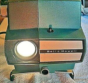 BELL-amp-HOWELL-MDL-745-VINTAGE-FILMSTRIP-CLASSROOM-SLIDE-PROJECTOR-TESTED-USED