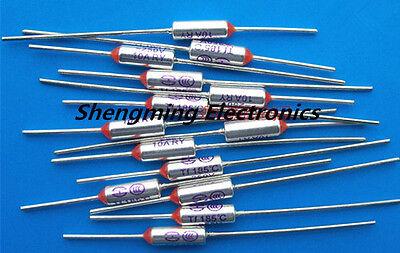 10pcs RY-130 TF 130℃ Thermal Fuse Cutoff SEFUSE RY Type 10A 250V