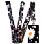 FLOWERS-Standard-size-ID-badge-holder-and-lanyard-neck-strap-holder-SPIRIUS thumbnail 22