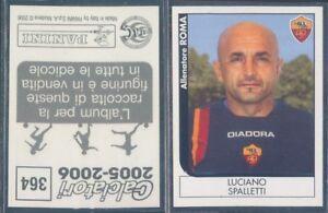 FIGURINA CALCIATORI PANINI 2005/06-ROMA,LUCIANO SPALLETTI-N.364-NUOVA,PERFETTA - Italia - FIGURINA CALCIATORI PANINI 2005/06-ROMA,LUCIANO SPALLETTI-N.364-NUOVA,PERFETTA - Italia