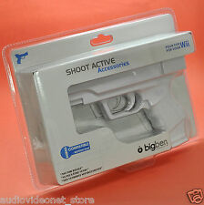 SHOOT ACTIVE GUN PISTOLA per WII NINTENDO compatibile MOTION PLUS