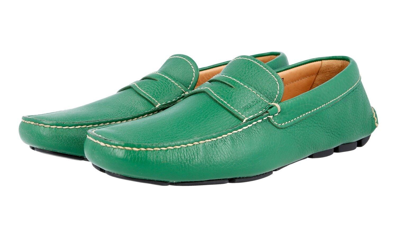 MOCASSINO PRADA LUSSO LUSSO LUSSO 2DD001 verde NUOVE 7 41 41,5 | Imballaggio elegante e robusto  2953a7