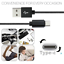 miniature 8 - 10ft USB C Fast Charger Cable Lot Type C Charging Cord For SamsungS8 S9 S10 Note
