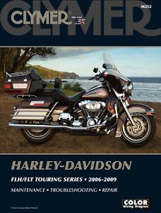 Harley-Davidson-FLH-FLT-Electra-Glide-Road-King-2006-2009-Clymer-Manual-M252