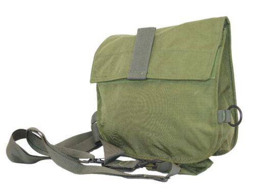 GI Military Gas Mask Carrier Bag OD Messenger Bag