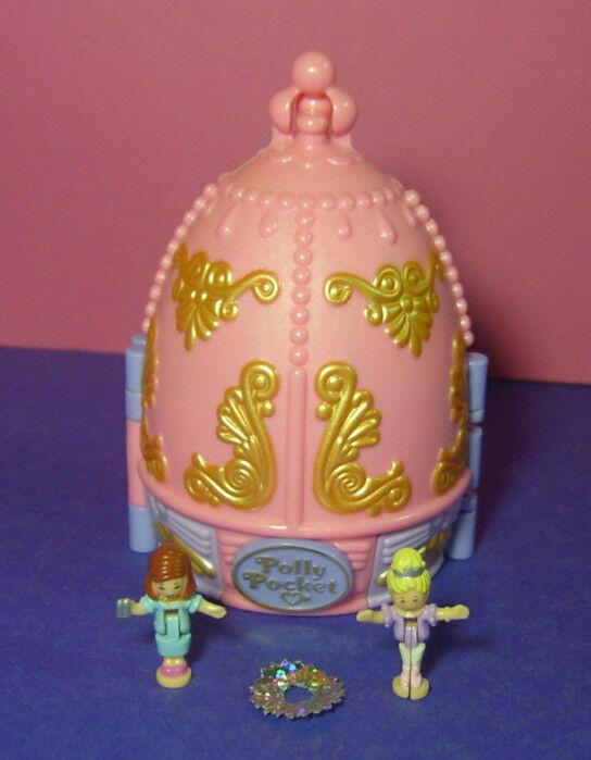 Polly Pocket Mini ♥ ballet corona ♥ Sparkle bailarina ♥ 100% complete ♥ 1996 ♥