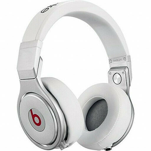 Beats By Dr Dre Beats Pro Over On Ear Wired Genuine Headphones Mh6q2am A White For Sale Online Ebay