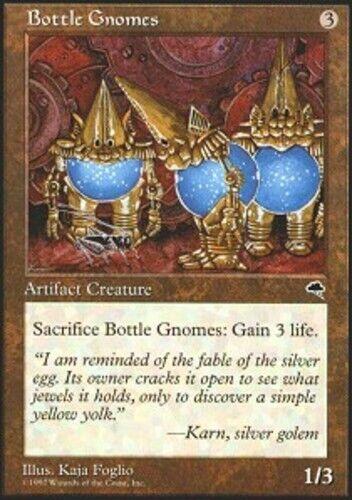 Bottle Gnomes X4 Tempest LP MTG *CCGHouse* Magic