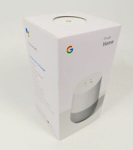 NEW GOOGLE HOME SMART PERSONAL ASSISTANT & WIRELESS SPEAKERS WHITE GA3A00417A14