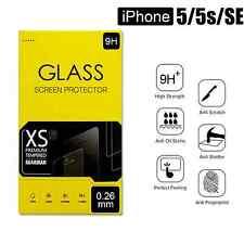 Apple iPhone 5 /5s / SE Displayschutz Panzer Glas Echt Panzerfolie Panzerglas 9H