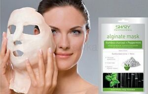 Details about Anti-Aging SPA SHARY MASK alginate simulates bamboo  charcoal/MINT 28 gr per pack