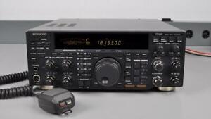 KENWOOD-TS-870S-HF-TRANSCEIVER-WORKS-GOOD