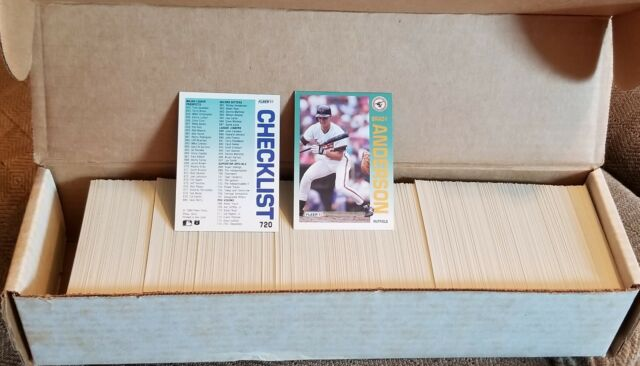 1992 Fleer Baseball Complete Set 720 Cards Excellent Condition