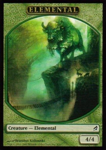 Lorwyn grün 4 Elemental Token