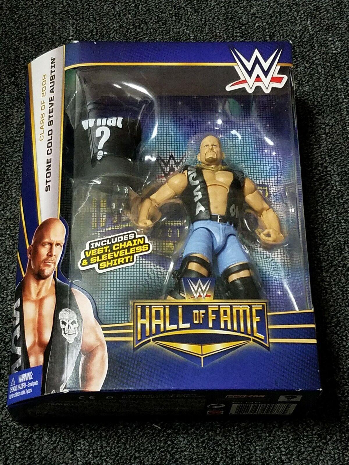 MATTEL ELITE WWE HALL OF FAME  STEVE AUSTIN SCSA FIGURE TARGET EXCLUSIVE