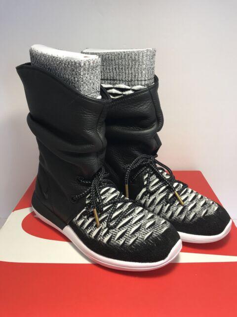 dd74ed9427f4e2 Nike Roshe Two Hi Flyknit Water Repellent Sneaker Boot Sz 6 US 861708-002