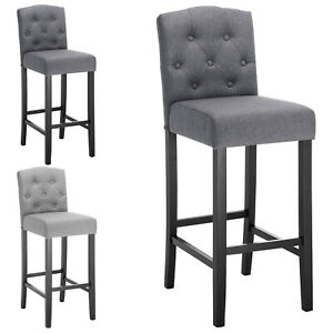 Remarkable Details About Bar Stools Set Of 2 Bar Chairs Grey High Stools Breakfast Counter Stools U202 Ocoug Best Dining Table And Chair Ideas Images Ocougorg
