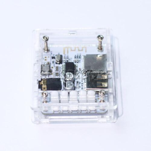 USB 5V Bluetooth 2.1 Audio-Receiver Board Stereo-Musik-Modul Acryl DIY Kits
