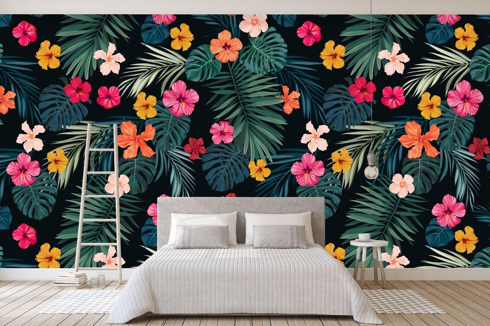3D Grass Flower 72 Wall Paper Print Wall Decal Deco Indoor Wall Murals US Summer