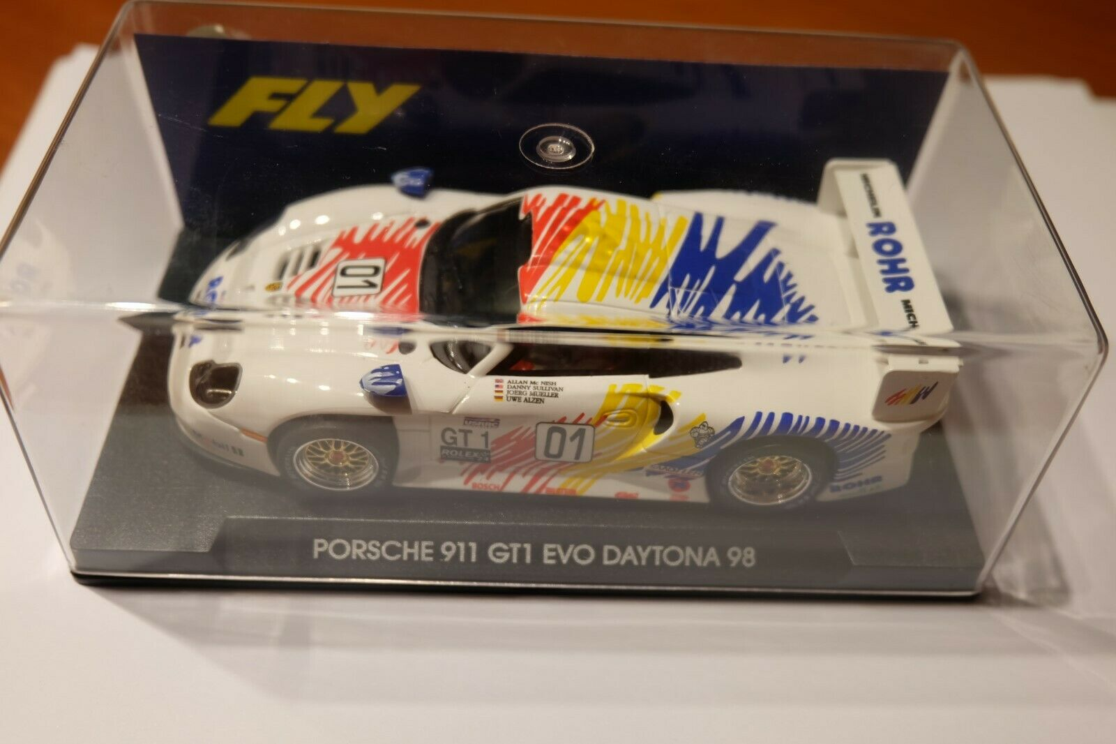 PORSCHE 911 GT1 EVO  Daytona 98  Weiß FLY A52