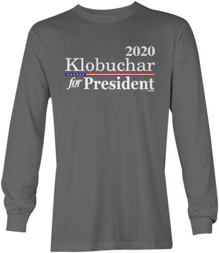 Election Democrat Vote LS Mens T-Shirt Amy Klobuchar for President 2020