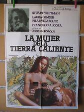 1186    LA MUJER DE LA TIERRA CALIENTE LAURA GEMSER SEXY FORQUE
