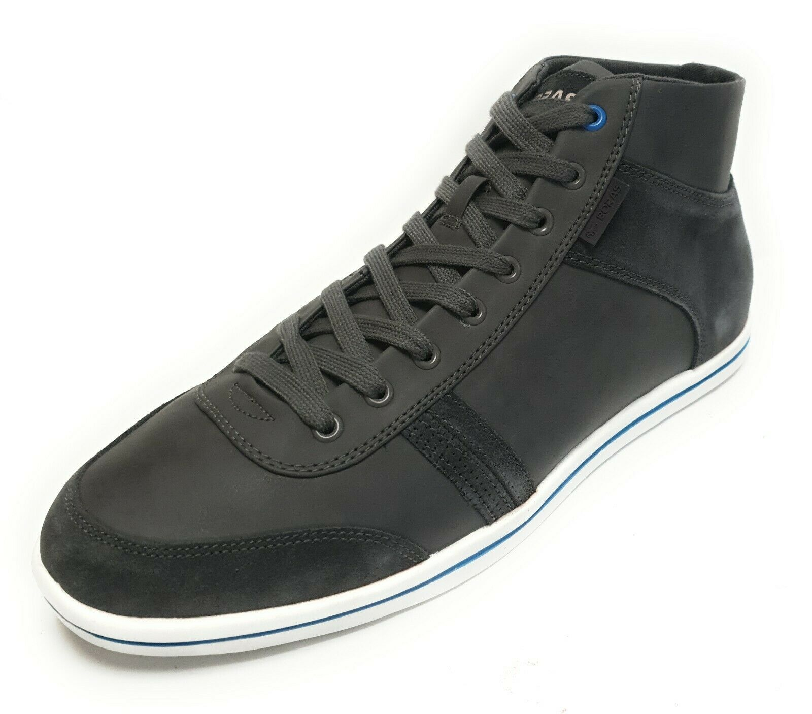 Boras contact Mid 3283-1230 Hommes baskets On chaussures Basket Chaussure Lacets