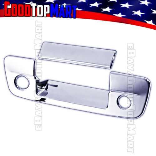 For Dodge RAM 1500 2009-2015 2016 2017 Chrome Tailgate Cover WITH Camera+Keyhole