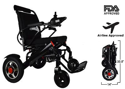 Power Wheelchair Foldable Electric wheelchair Lightweight power Wheel chair | eBay