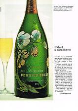 PUBLICITE  1976   PERRIER-JOUET  champagne BELLE EPOQUE