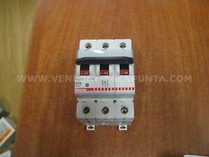 BTICINO-F83-10-C10-INTERRUTTORE-MAGNETOTERMICO-3-POLI-3P-10A-6000-NUOVO