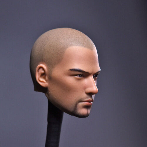 """1//6 Male Head Sculpt Model Holly Monk Asura For 12/"""" Action Figure Body Toy"""
