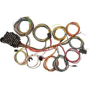 speedway 22 circuit universal street rod wiring harness w detailedimage is loading speedway 22 circuit universal street rod wiring harness