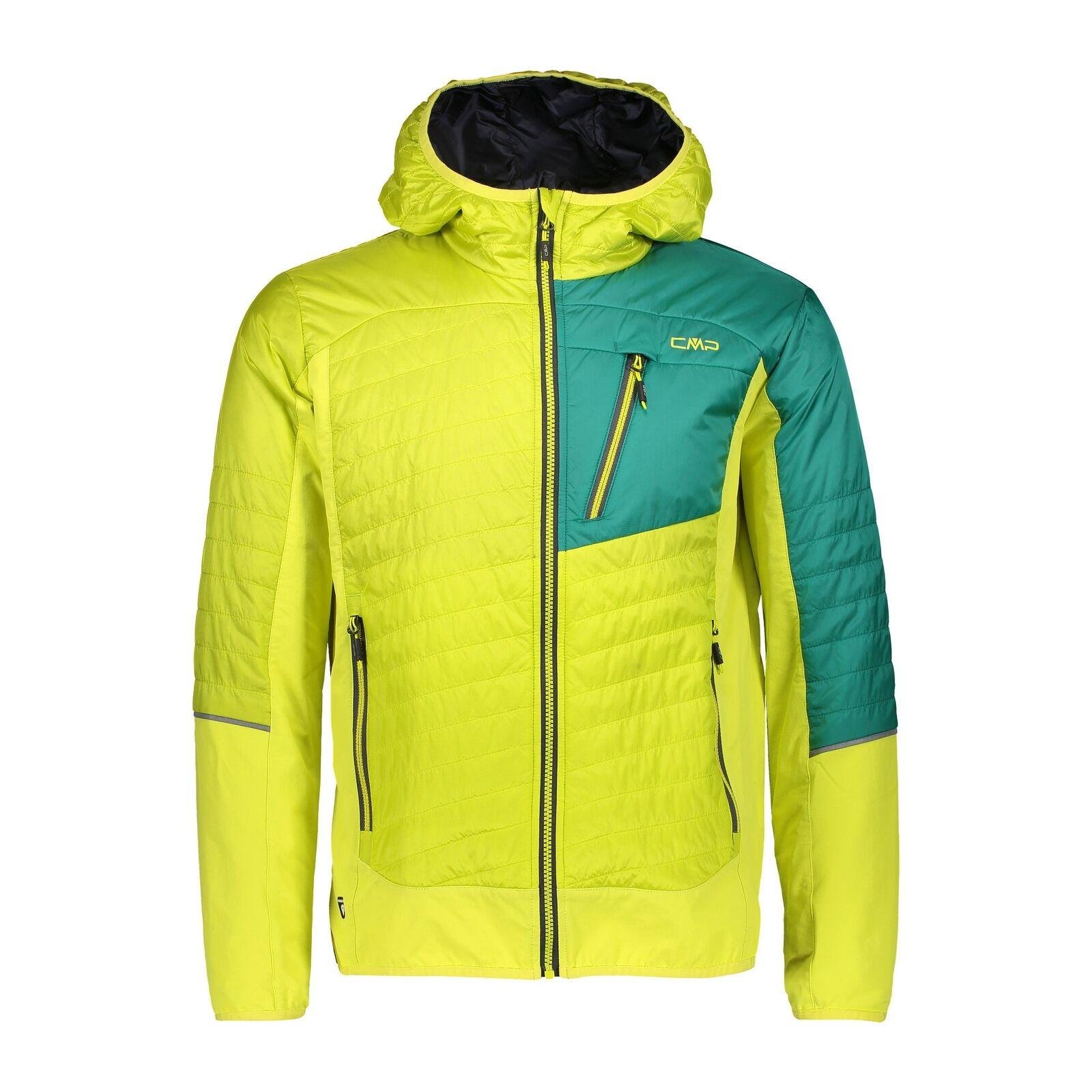 Chaqueta funcional de CMP a chaqueta fijo capucha amarillo impermeable transpirable
