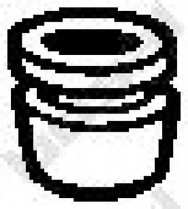 Gummistreifen Abgasanlage für Abgasanlage BOSAL 255-408