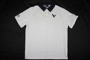 NEW-Nike-Houston-Texans-White-Navy-Dri-Fit-Polo-Shirt-Multiple-Sizes