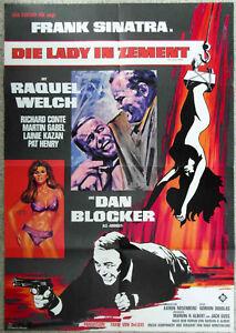 Filmplakat-Lady-in-Zement-Frank-Sinatra-Dan-Blocker-Raquel-Welch-A1