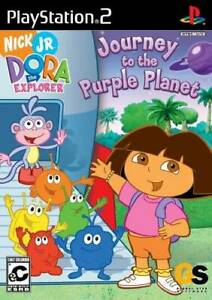 Dora-the-Explorer-Journey-to-the-Purple-Planet-PlayStation-2-VERY-GOOD