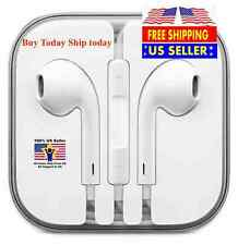 New OEM Original Apple iPhone 5 5S 6 6S EarPods Earphones W/Remote & Mic