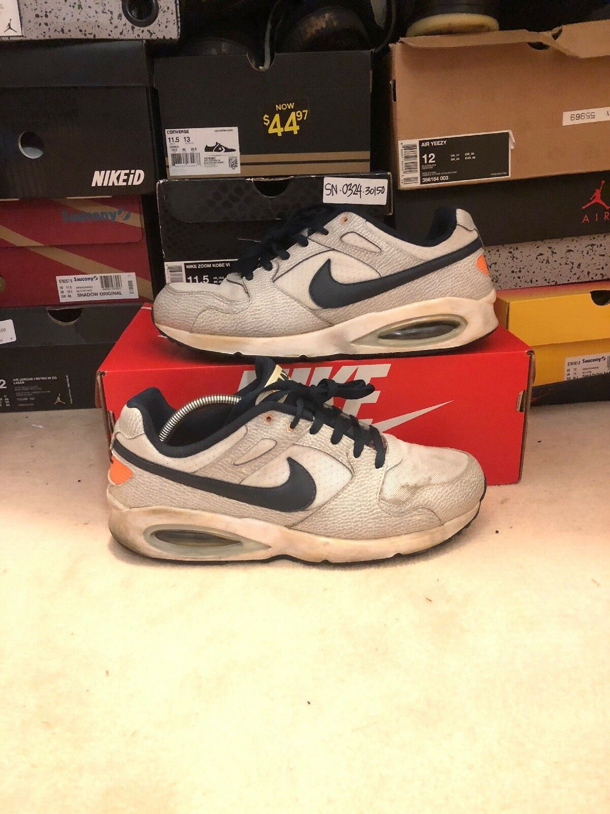 NIKE AIR MAX COLISEUM Racer Comfortable Wild casual shoes