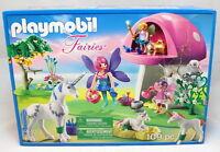 Playmobil 6055 Princess Fairies Playset With Toadstool House Fairy Toy Set