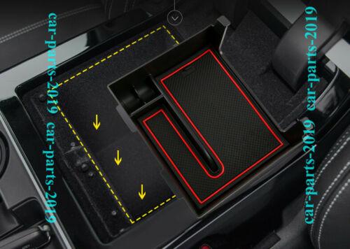 For Range Rover Velar 2018 2019 Inner Armrest Gear Shift Storage Box cover trim