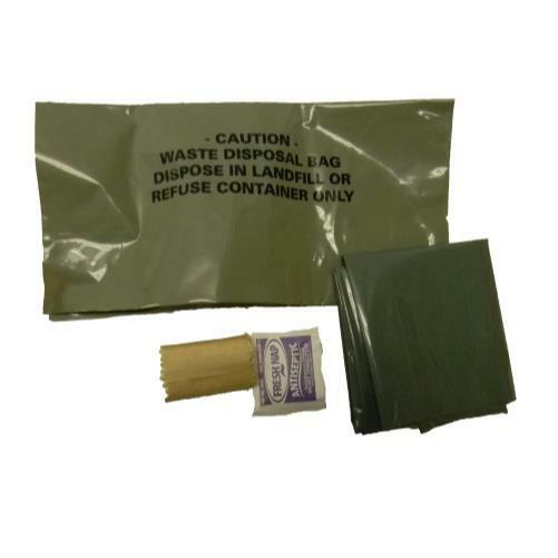 NEW GI Military WAG Bag Waste Kit Hurricane  Emergency Supplies Sizes  wholesale cheap and high quality