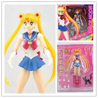 "Anime Sailor Moon Pretty Guardian Tsukino Usagi 6"" Action Figure PVC Toy Doll"