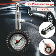 0-100PSI Car Truck Auto Motor Tyre Tire Air Pressure Gauge Dial Meter Tester RA