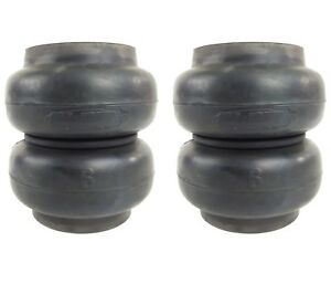 "re6 slam bag pair air ride suspension 6"" round 1/2""npt port RE-6 two bags"