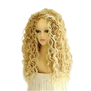 PW-FA-HK-Women-039-s-Fashion-Long-Mix-Wavy-Wig-Sexy-Curly-Natural-Hair-Cosplay
