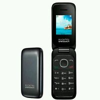 Alcatel 1035x 10.35 Black - Unlocked 2G Flip Phone - Sim Free (Brand New) CHEAP